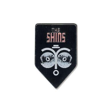 The Shins Face Collage Enamel Lapel Pin