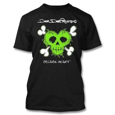 Dee Dee Ramone Toxic Green Poison Heart Tee
