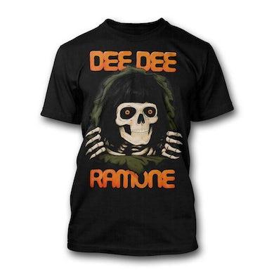 Dee Dee Ramone Ripping Skull T-shirt
