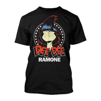 Dee Dee Ramone Toon Headshot T-shirt