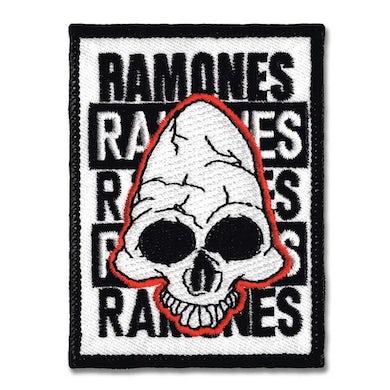 Dee Dee Ramone Ramones: Pinhead Skull Patch