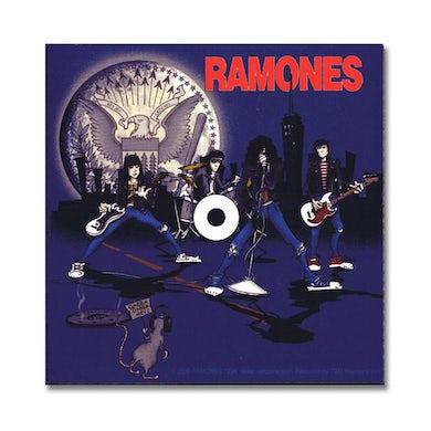 Dee Dee Ramone Ramones: Cartoon Sticker