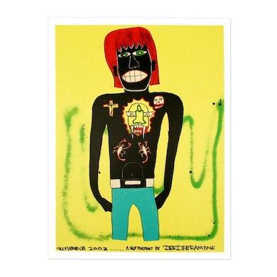 Dee Dee Ramone Self Portrait