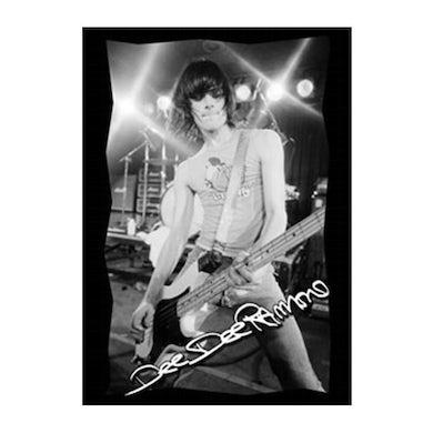 Dee Dee Ramone Photo Sticker