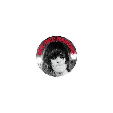 Dee Dee Ramone Photo Button