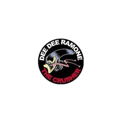 Dee Dee Ramone Crusher Button