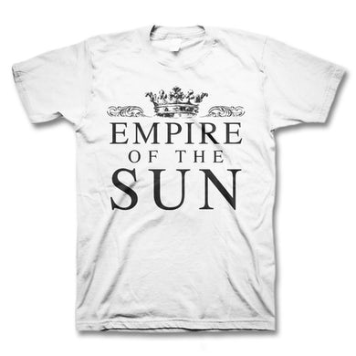 Empire Of The Sun Crown Logo T-Shirt (White)