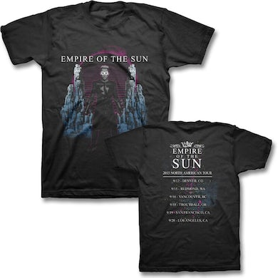 Empire Of The Sun 2015 North American Tour T-shirt