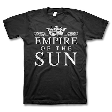 Empire Of The Sun Crown Logo T-Shirt (Black)