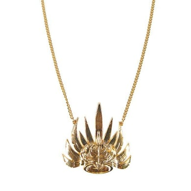 Empire Of The Sun Golden Crown Necklace