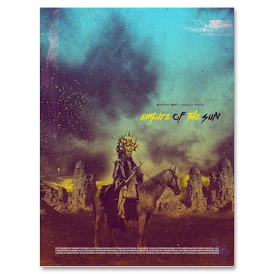 Empire Of The Sun 2014 World Tour Print