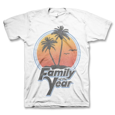 Family Of The Year By The Beach T-Shirt