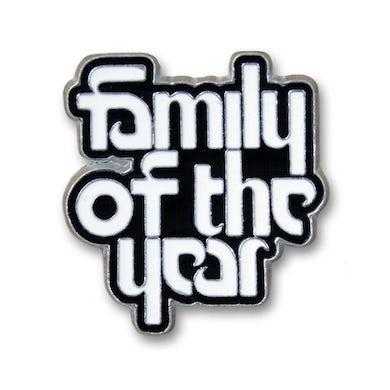 Family Of The Year Logo Enamel Pin