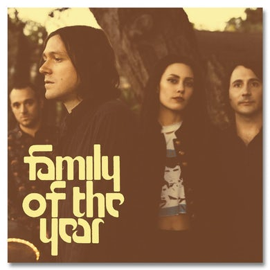 Family Of The Year Album Cover Poster