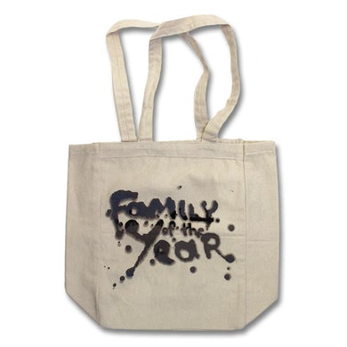Family Of The Year Logo Tote Bag
