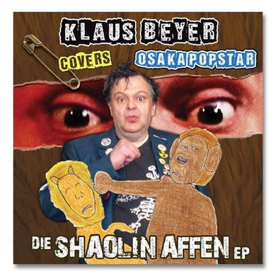 Klaus Beyer Covers Osaka Popstar: Die Shaolin Affen EP Vinyl 7-inch (3 Color Options)