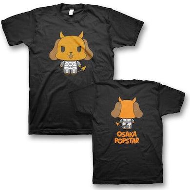 Osaka Popstar Skeleton Devil Dog T-Shirt