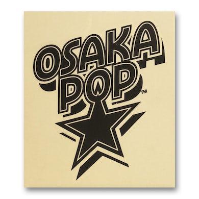 Osaka Popstar Star Logo Rub-On Sticker