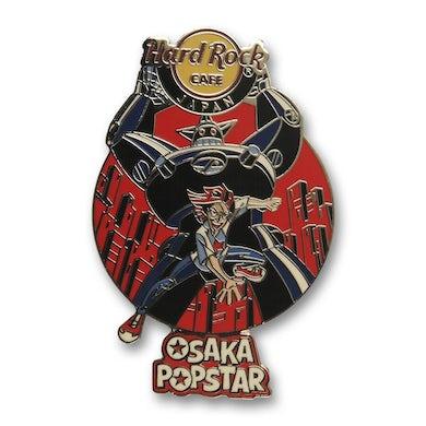 Osaka Popstar Robot Hard Rock Cafe Pin