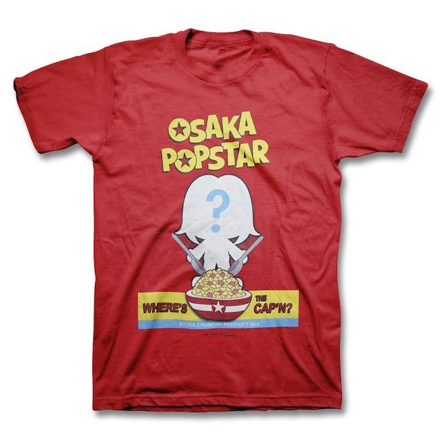 Osaka Popstar Where's The Cap'n T-shirt - Men's