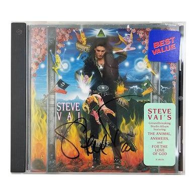 Steve Vai Passion & Warefare CD - SIGNED