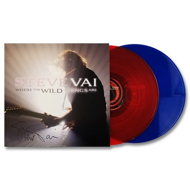 Steve Vai Where the Wild Things Are 2xLP - SIGNED (Vinyl)