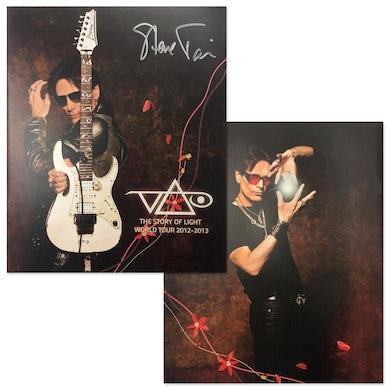 Steve Vai Story Of Light Signed Tour Program