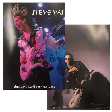 Steve Vai Ultra Zone Signed Tour Program