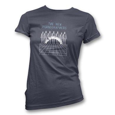 The New Pornographers Spacecase T-Shirt - Women's