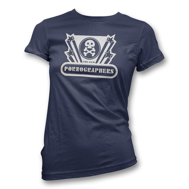 The New Pornographers Skully T-Shirt