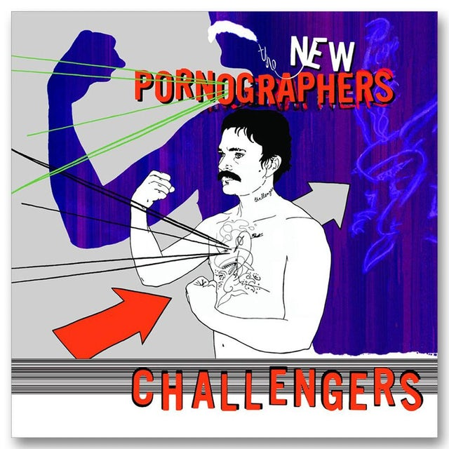 The New Pornographers Challengers (2007) CD