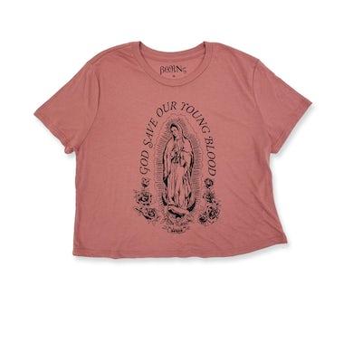 BØRNS Guadalupe Women's Crop T-Shirt