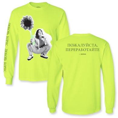 BØRNS Sunflower Long Sleeve T-Shirt