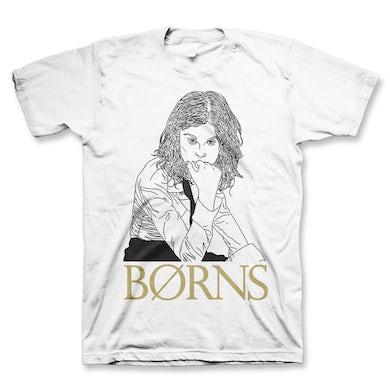 BØRNS Outline T-shirt