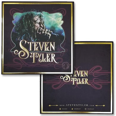 Steven Tyler Softbound Collector's Booklet