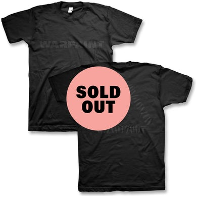 Warpaint Black On Black Logo T-Shirt