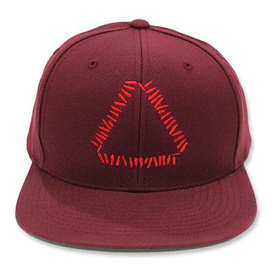 Warpaint Embroidered Triangle Logo Snapback (Maroon)