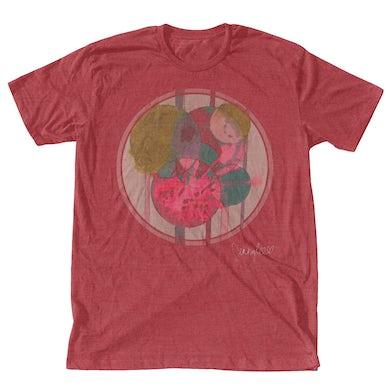 JENNYLEE Circles T-Shirt - Vintage Red