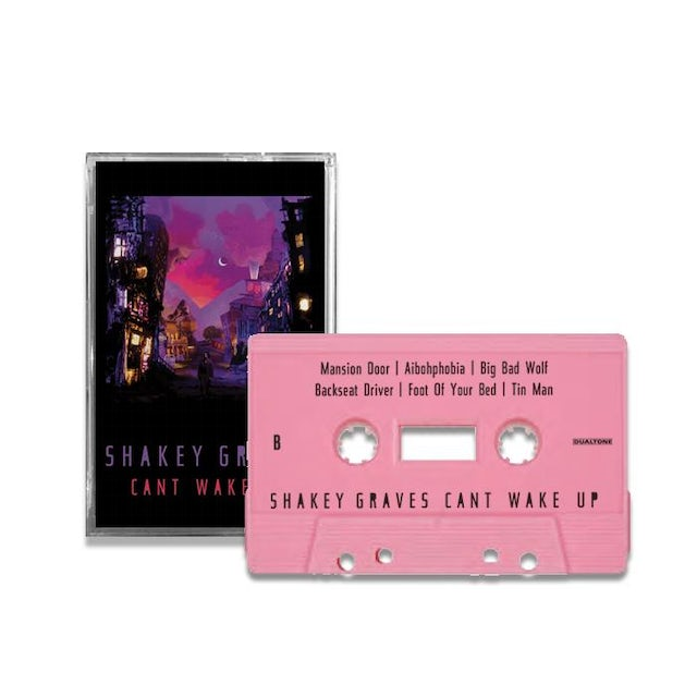 SHAKEY GRAVES Can't Wake Up (Cassette)