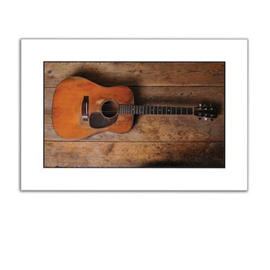Guy Clark Guitar Workbench (Ltd. Edition Print)