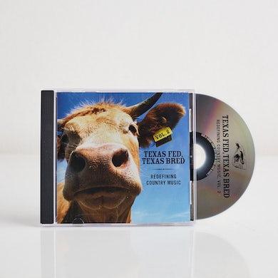 Various Artists - Dualtone Texas Fed, Texas Bred II (CD)