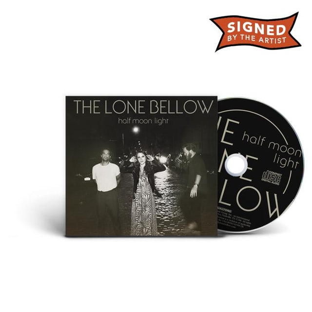 The Lone Bellow Half Moon Light (Signed CD)