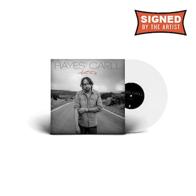 Hayes Carll What It Is (Signed Ltd. Edition Vinyl)