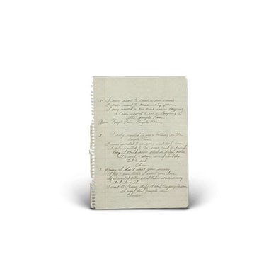 Handwritten Lyrics by The Lone Bellow