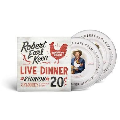Robert Earl Keen Live Dinner Reunion (CD)