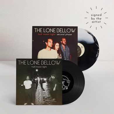 The Lone Bellow Half Moon Light + Second Phase (Signed LP) (Vinyl)