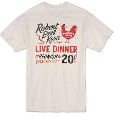 Robert Earl Keen Live Dinner Reunion (Shirt)