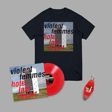 Violent Femmes Hotel Last Resort Color Vinyl LP & Tee Bundle