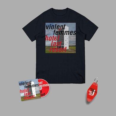 Violent Femmes Hotel Last Resort CD & Tee Bundle