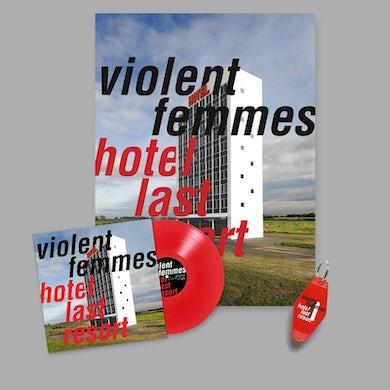Violent Femmes Hotel Last Resort Color Vinyl LP & Poster Bundle